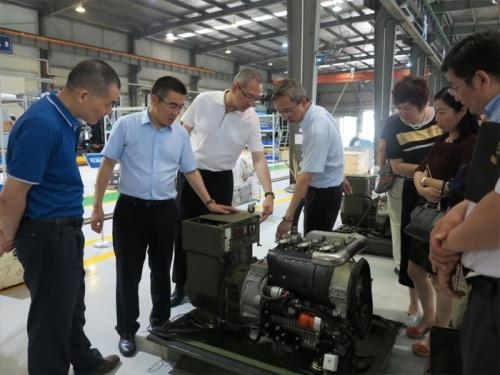 刘礼华副总裁带领调研组赴精工装备事业部调研