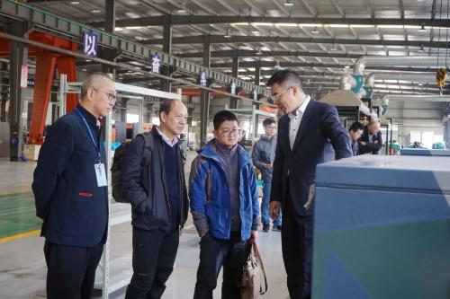中国电科首席科学家张刚宁莅临法尔胜悦能